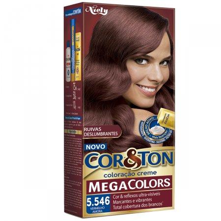 Mini Kit Mega Color Cor&Ton Nº 5.546 Vermelho Amora