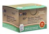 ALCOHOL SWABS BD COM 100 UNIDADES