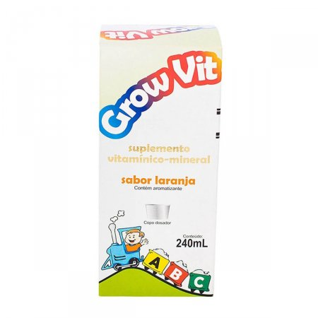 GROW VIT SUPLEMENTO VITAMINICO SOLUCAO 240ML
