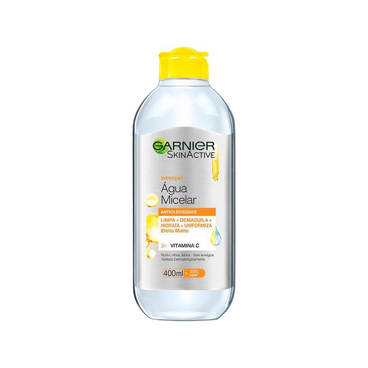 Água Micelar Garnier SkinActive Antioleosidade 400ml
