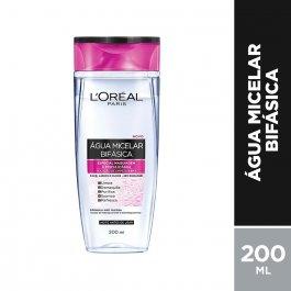 Água Micelar L'Oréal Paris Bifásica com 200ml