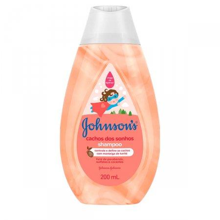 Shampoo Johnson's Baby Cachos dos Sonhos
