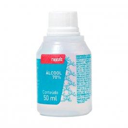 Álcool Líquido 70% Needs Solução com 50ml