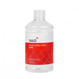 Álcool Líquido 70% Needs Solução com 500ml
