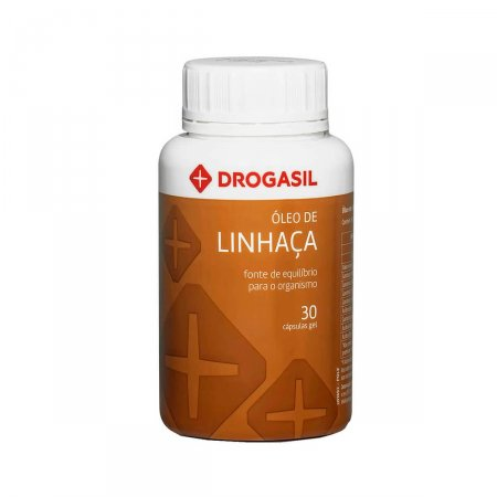 DROGASIL OLEO DE LINHACA 30 CAPSULAS