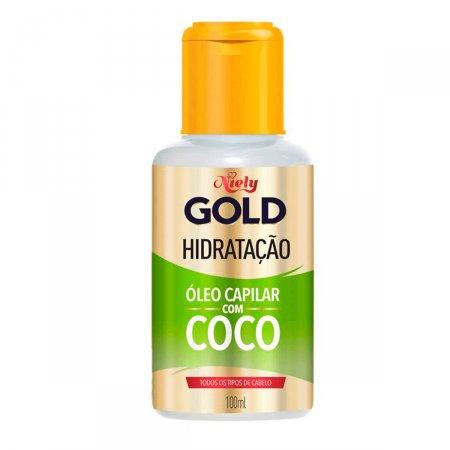 Óleo Capilar Niely Gold Hidratação Água de Coco