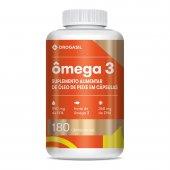 DROGASIL OMEGA 3 COM 180 CAPSULAS