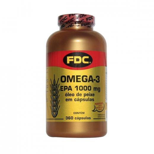 55ede691b Ômega 3 EPA 100 mg FDC 360 cápsulas