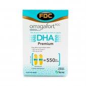 OMEGA 3 FORT DHA 60 CAPSULAS