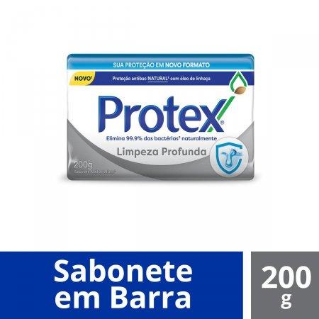 PROTEX SABONETE LIMPEZA PROFUNDA 200G