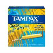 Absorvente Interno Tampax Compak Regular