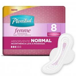 Absorvente Plenitud Femme Normal com Abas