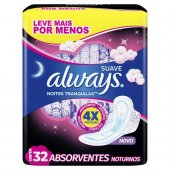 ABS EXT ALWAYS PROT TOTAL SUAVE NOT C/A L32P26