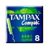 Absorvente Interno Tampax Compak Super