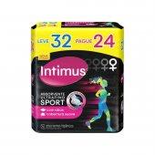 Absorvente Intimus Sport Cobertura Suave com Abas Ultrafino