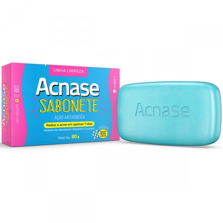 ACNASE CLEAN SABONETE ANTI-ACNEICO 80G