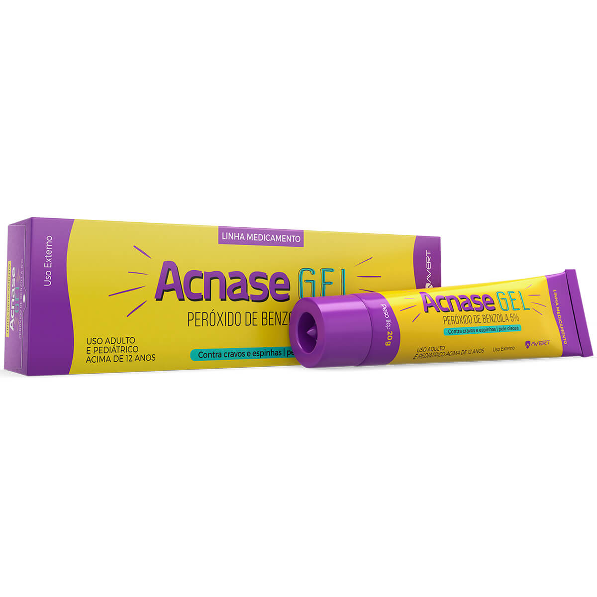 Acnase Gel com 20g Biolab 20g