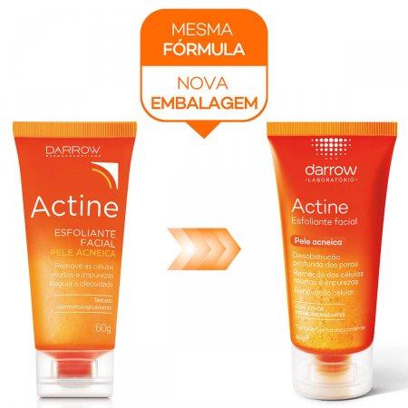 Esfoliante Facial Actine Pele Acneica
