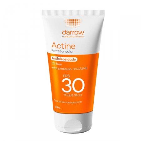 Protetor Solar Facial Actine Antioleosidade Toque Seco FPS30