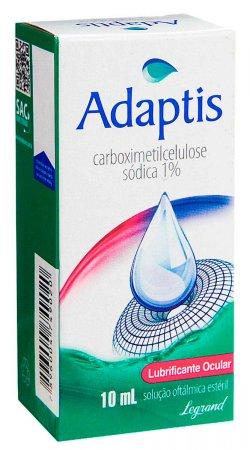 ADAPTIS COLIRIO 1% SOLUCAO OFTMALMICO 10ML
