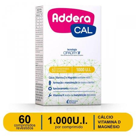 ADDERA CAL 1.000UI 60 COMPRIMIDOS REVESTIDOS