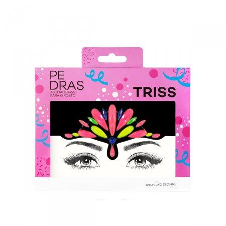 Adesivos Faciais Transparentes em Jóias Triss Neon com Glitter | Drogasil.com