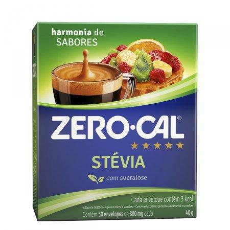 Adoçante Zero Cal Stevia