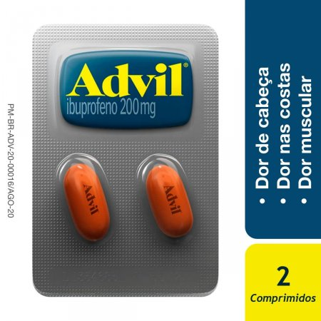 ADVIL ANALGESICO BLISTER 1X2 COMPRIMIDOS