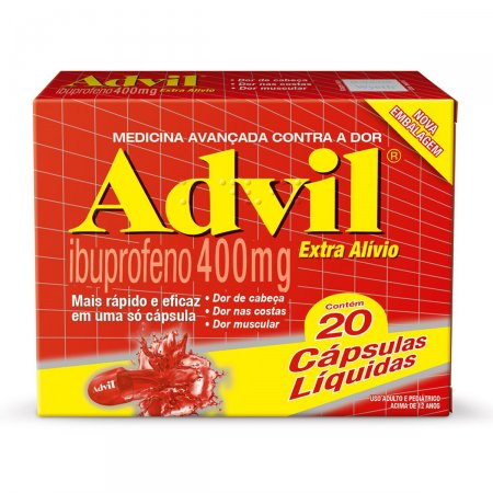 Advil Extra Alívio 400mg