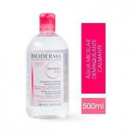 Água Micelar Demaquilante Bioderma Sensibio H2O Calmante com 500ml