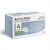 Agulha para Caneta Aplicadora de Insulina Accu Fine 4mm com 100 Unidades