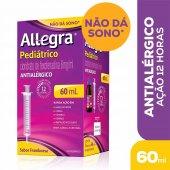 Allegra Pediátrico 6mg/ml Suspensão Oral com 60ml