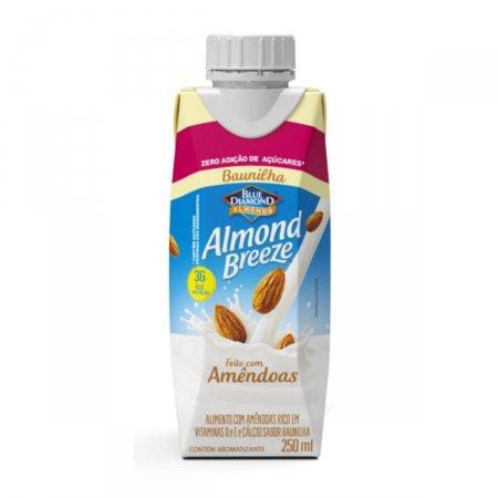 Almond Breeze Zero Açúcar Sabor Baunilha