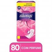 Protetor Diário Always com Perfume