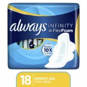 Absorvente Always Infinity Regular
