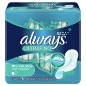 ABS EXT ALWAYS PROT TOTAL SECA ULTRAFINO C/A 8UN