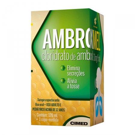 AMBROXMEL  XAROPE ADULTO MEL/EUCALIPTO 120ML