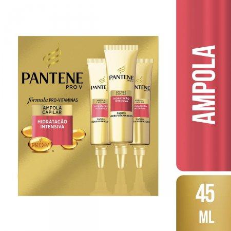 Kit Ampola Capilar Pantene Pro-V Cachos Hidra-Vitaminados com 3 Unidades