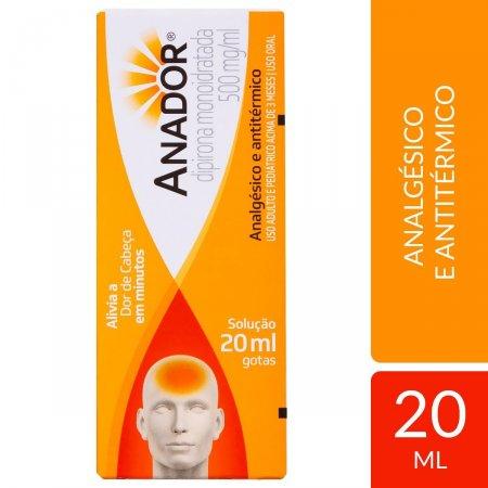 ANADOR GOTAS 20 ML