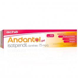 Andantol Gel com 40g