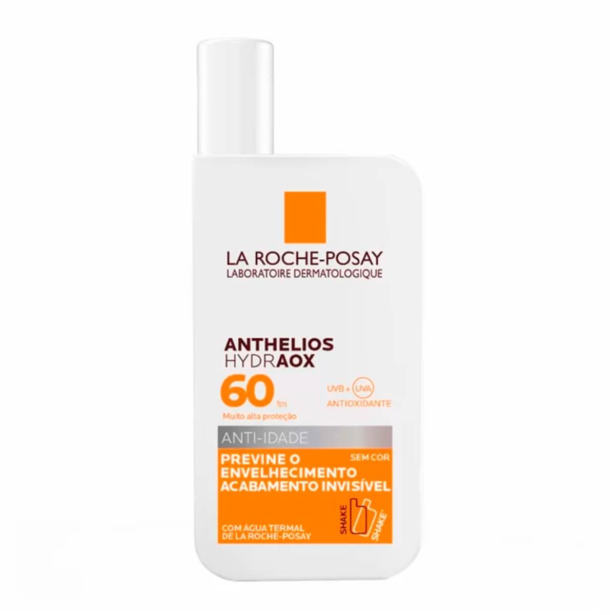 Protetor Solar Facial La Roche-Posay Anthelios Hydraox Anti-Idade FPS 60 com 50g 50g