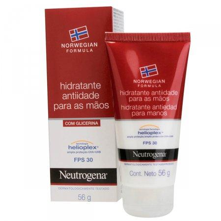 Hidratante Anti-Idade para Mãos Neutrogena Norwegian Formula FPS30