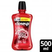 Antisséptico Bucal Closeup Red Hot Proteção 360° Fresh Zero Álcool