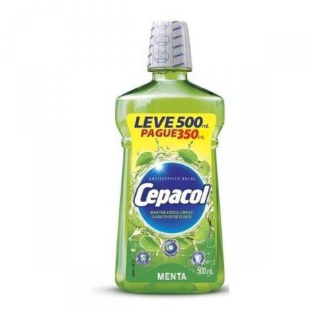 Enxaguante Bucal Cepacol Menta com 500ml
