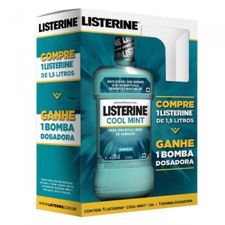 Antisséptico Bucal Listerine Cool Mint