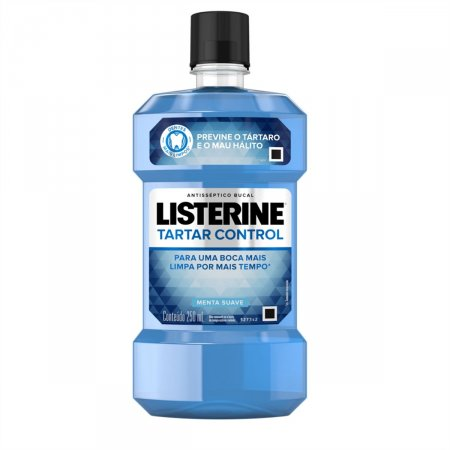 LISTERINE ANTISEPTICO BUCAL ANTI TARTARO (AZUL) 250 ML