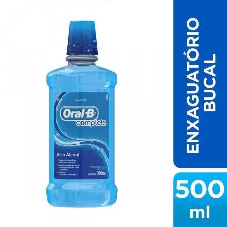 Antisséptico Bucal Oral B Complete Sabor Menta