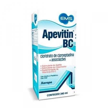 Apevitin BC Solução 240ml   Drogasil.com Foto 1