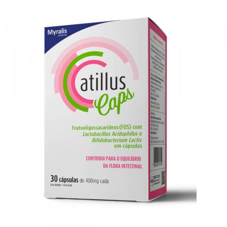 ATILLUS 400MG 30 CAPSULAS