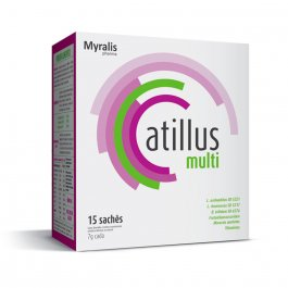 Atillus Multi com 15 sachês de 7g
